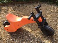 Toddler Push Balance Bike Age 2 to 5 'YBike' VG Condition