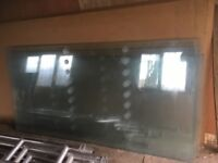 Large reinforced class panes