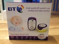 BT Digital baby monitor 300