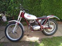 Pre 65 Sprite Trials bike 250cc