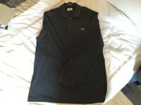 20c8d4e5 Lacoste Grey Long Sleeved Polo Shirt - Brand new (only tried on once - but