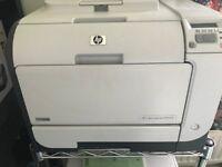HP Color LaserJet CP2025 Laser Network Printer