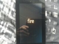 A Amazon Kindle fire tablet hardley used it has SIM fitting