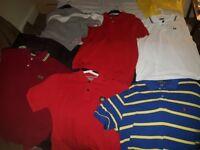 15 x Designer T-shirts Evisu Armani Hugo Boss Nike Adidas Henley Versace Ralph Lauren Polo