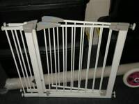 Pair of lindem gates with extenders