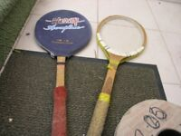 Two Old Tennis Rackets for The Kids Weymouth