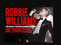 Robbie Williams tickets (2) Edinburgh