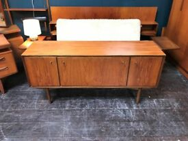 Sideboard / Drinks Cabinet by Everest Furniture. Retro Vintage Mid Century