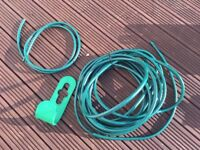 15m Garden Hose with Holder
