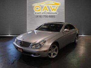 2006 Mercedes-Benz CLS-Class 500 NAVIGATION LEATHER SUNROOF 18AL