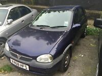 Automatic Vauxhall Corsa CDX. 1.2 litre small engine. 5 door.NEW MOT. Low insurance / Fuel