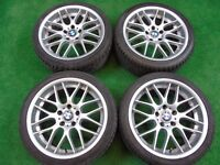 """BMW 3 SERIES CLS STYLE 18"""" ALLOY WHEELS"""