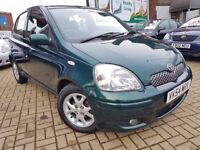 Toyota Yaris T SPIRIT VVT-I 1.0 5dr LOW MILEAGE, 1 FORMER KEEPER, ONE YEAR MOT, 3 MONTHS WARRANTY