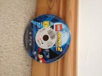 mint, lego batman 2 video game for ps3 playstation 3 PICK UP FROM WRENTHAM EX LOVE FILM superman dc
