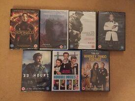 DVD Bundle: 7 new dvds