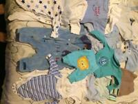 Bundle clothes for baby boy 0-3 months