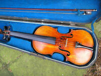 Sweet old French violin, 3/4-size......circa 1903