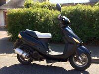 50cc moped 8 months mot