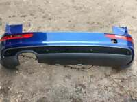 2010 - 2015 AUDI Q5 REAR BUMPER IN BLUE