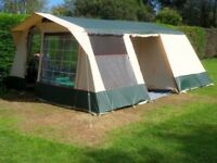 Traditional 6-Berth Canvas Tent Cabanon Elody - Well-used