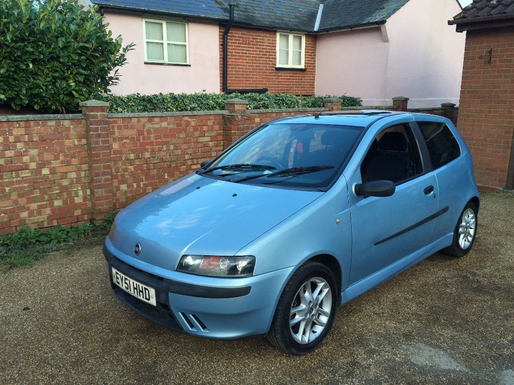 2001 51 fiat punto sporting 1 2 16v 6 speed psh part ex swap in colchester essex gumtree. Black Bedroom Furniture Sets. Home Design Ideas