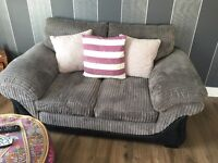 1 pair of 2 seater sofas