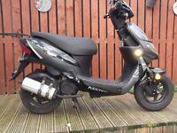 keeway hurricane 50cc 2 stroke scooter