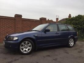 2003 E46 BMW 320d Touring. 6 speed. Long mot