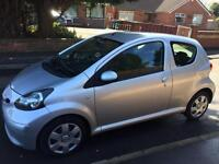 2007 model Toyota Aygo 1.4 d4d turbo diesel only £20 a year for tax immaculate condition