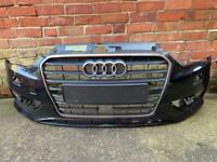 Audi A3 av 2012 to 2016 front bumper and grill