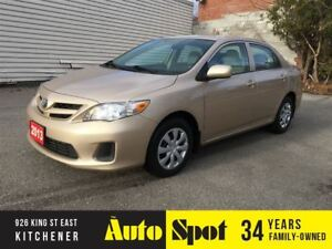 2013 Toyota Corolla CE/LOW,LOW KMS/PRICED FOR A QUICK SALE!