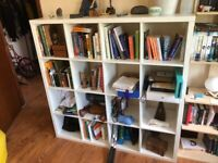 Ikea Kallax 4x4 Bookcase and Shelving Unit - 4 by 4