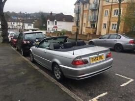 BMW 318ci 2002 AUTO convertible FSH