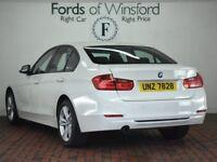 BMW 3 SERIES 320I SPORT 4DR STEP AUTO [BUSINESS MEDIA] (white) 2014
