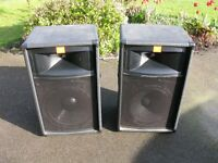JBL TR125 PA Speakers