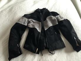 Ladies motorcycle jacket size S/8