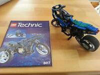 Lego Technic Motorrad 8417 mit Anleitung Nordrhein-Westfalen - Schieder-Schwalenberg Vorschau
