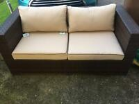 Rattan Direct Brand New 2 seater outdoor Settee