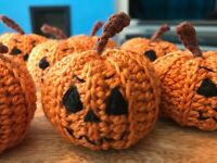 Crochet Jacko Lantern Halloween Decoration/Gift