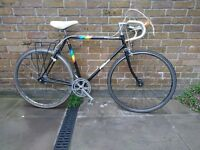Vintage fixed gear single speed road bike retro cycle bicycle