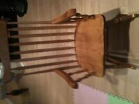Excellent condition wooden rocking chair