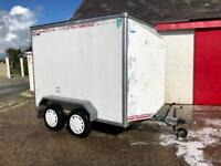 8x4 brake assisted box trailer