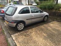 Vauxhall CORSA 1.2sxi 03