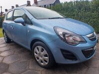 Vauxhall Corsa - Design AC 1.4, 5d, Petrol, July 2014, Blue, 30000 Miles, PRICED FOR QUICK SALE -