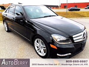 2013 Mercedes-Benz C300 4MATIC  **CERTIFIED ACCIDENT FREE**