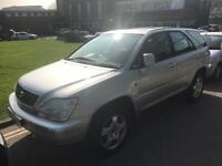 Lexus rx300. 2003. Leather MOT. TAX.