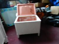 bedroom / bathroom box for towels or cloths bin etc