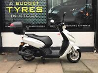 Peugeot Kisbee 100cc 2014 Plate