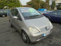 MERCEDES A140 ELEGANCE 1397cc 5 DOOR HATCH 2001-Y REG