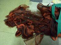lovely beautiful burgundy red wedding sashes 40+,
